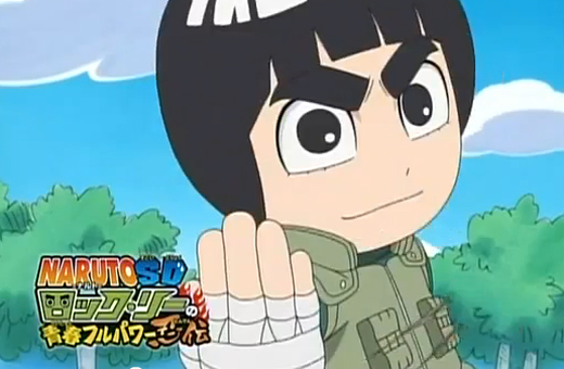 Trailer do spin-off de Naruto com o personagem Rock Lee