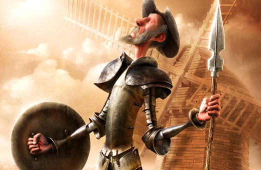 Johnny Depp vai produzir filme do Dom Quixote para a Disney