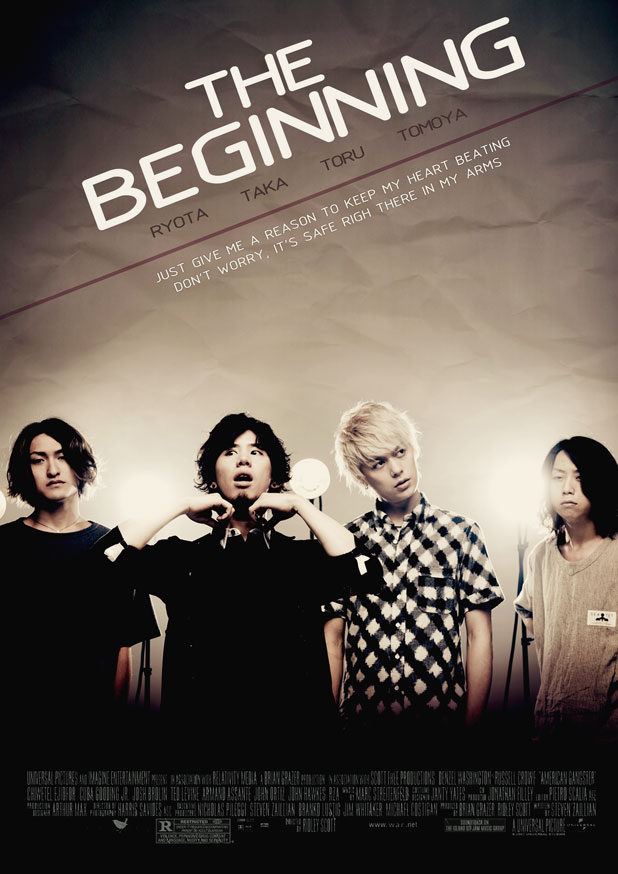 ONE OK ROCK The Beginning Pôster