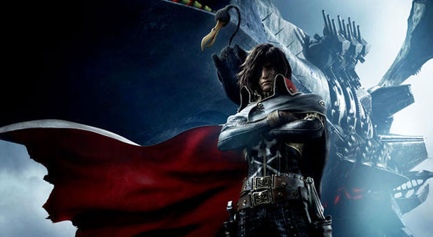 Space Pirate Captain Harlock Trailer