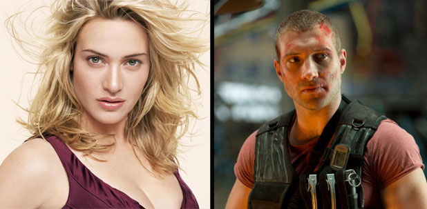 Kate Winslet e Jai Courtney em Divergente