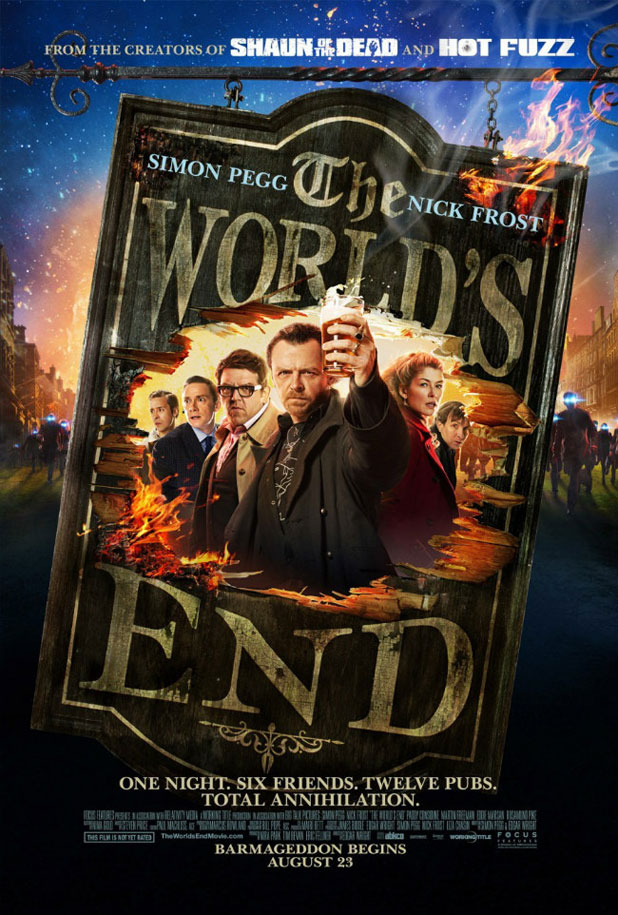 The World's End Pôster