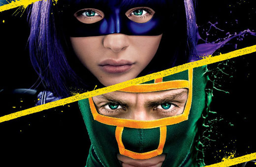 QUATRO MINUTOS de bundas sendo chutadas no novo trailer de Kick-Ass 2