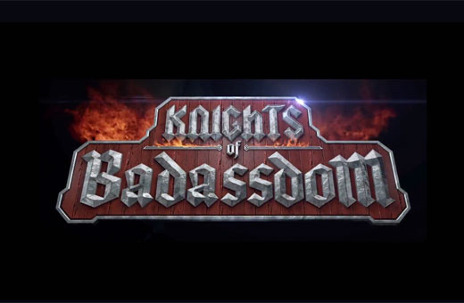 Reino Impagável dos RPGistas Chutadores de Bundas do Filme KNIGHTS OF BADASSDOM