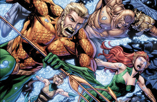 Geoff Johns Vai Sair da Revista Mensal do Aquaman