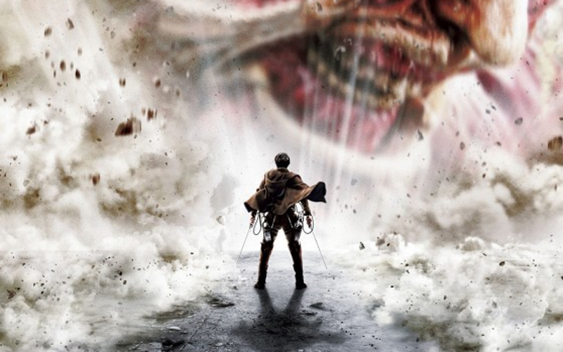Trailer do Live-Action Attack on Titan – A Destruição dos Gigantes