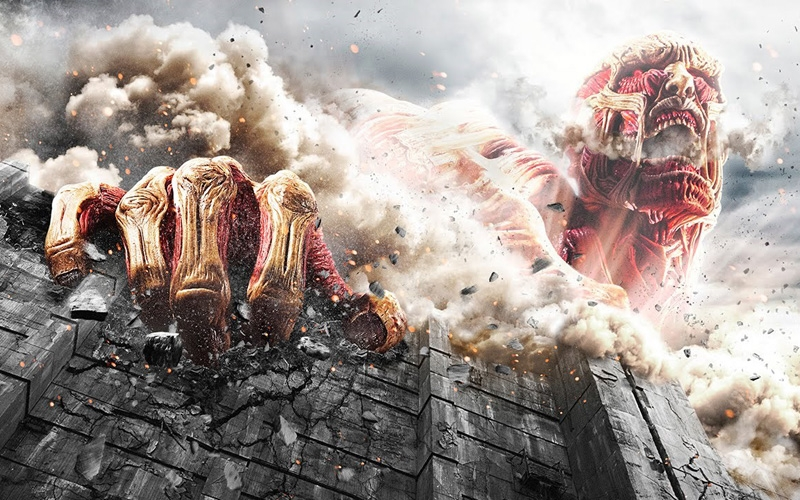 Trailer do Live-Action Attack on Titan – Equipamentos de Manobra 3D