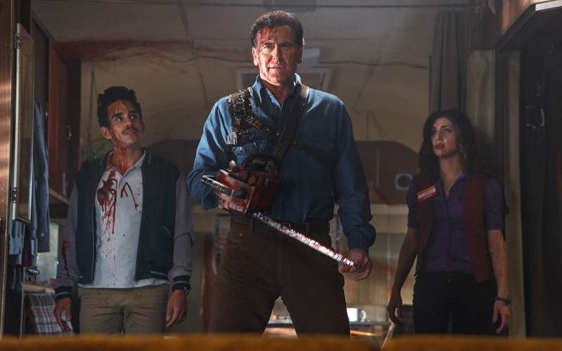 Trailer de Ash vs. Evil Dead – Hail to the King, baby!